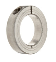 "1-1/8"" Stainless Steel Single Split Shaft Collar"