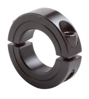 "1-1/8"" Black Oxide Double Split Shaft Collar"