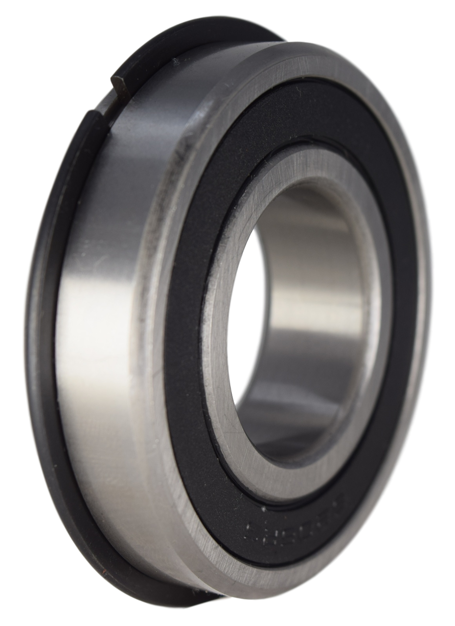 6206-2RSNR Radial Ball Bearing with Snap Ring 30X62X16 Image