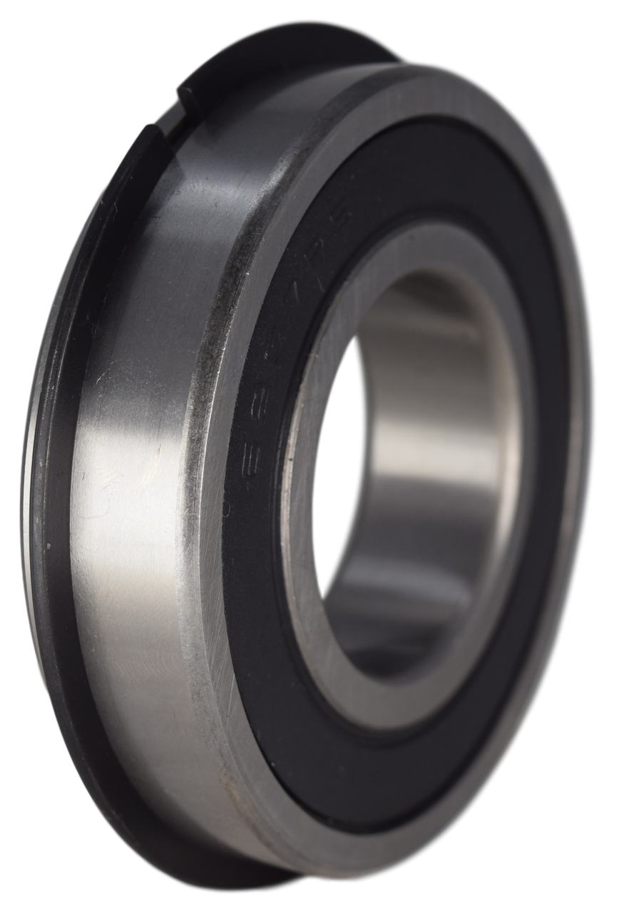 6207-2RSNR Radial Ball Bearing with Snap Ring 35X72X17 Image