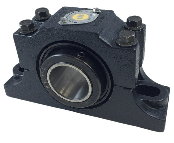 "2-3/4"" E1000 Heavy Duty Split Two Bolt Pillow Block Bearing Image"