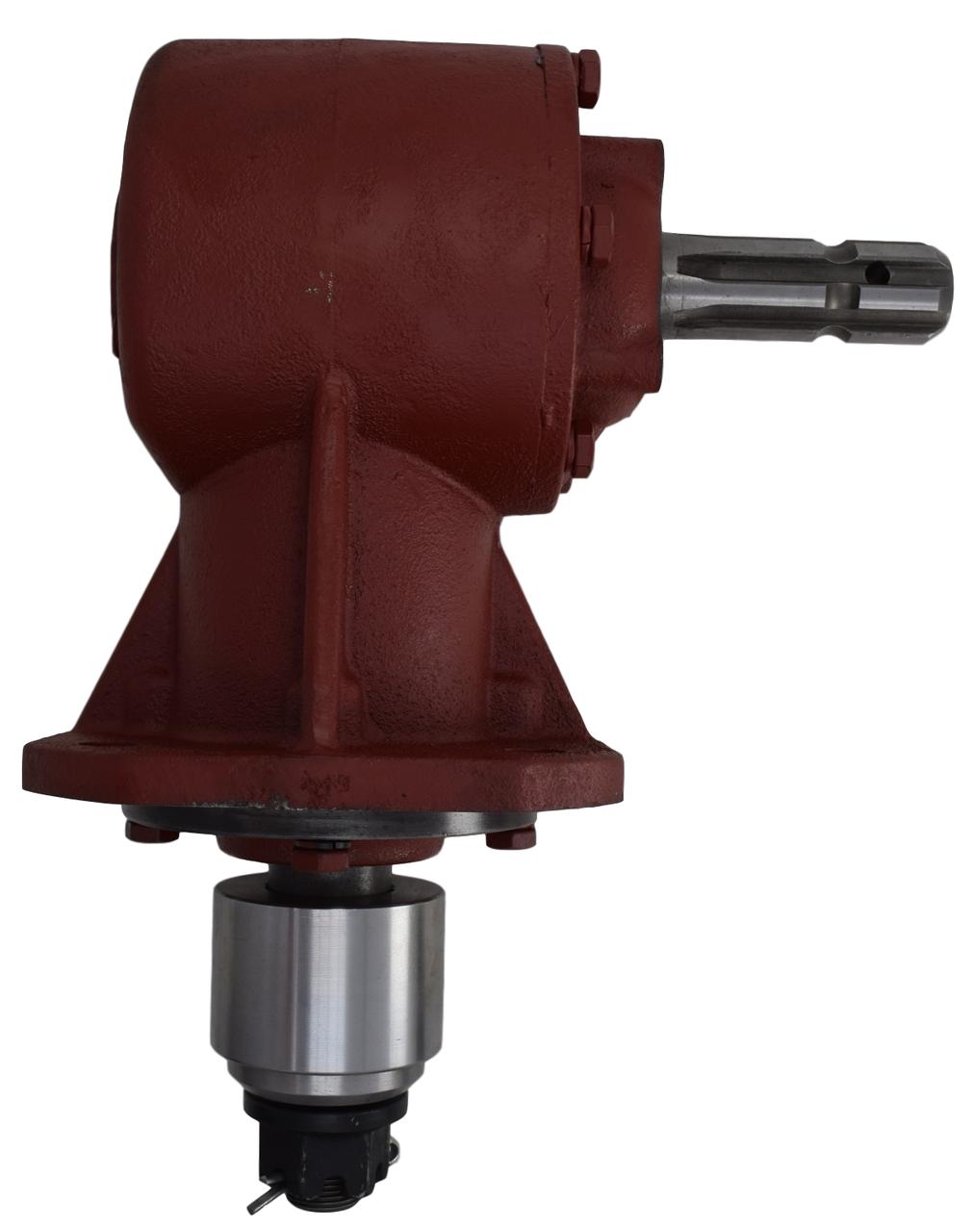 "40 HP Rotary Cutter Gearbox 1-3/8"" 6-Spline Input Shaft 1:1.47 Image"