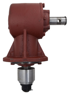 40 HP Rotary Cutter Gearbox 1-3/8 Smooth Input Shaft 1:1.93
