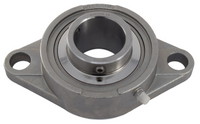 "1-3/4"" Stainless Steel Two Bolt Flange Bearing SSUCFL209-28"