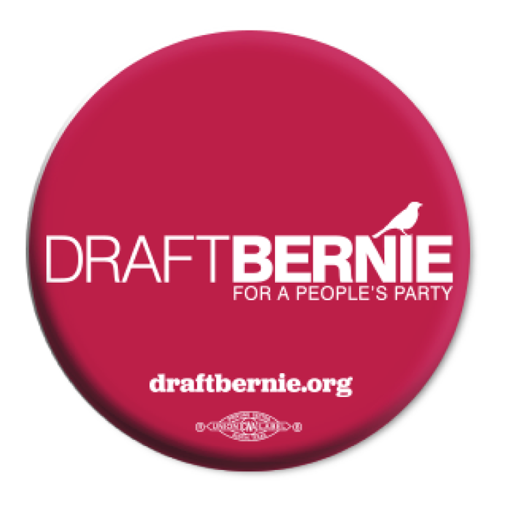 Draft Bernie Official Logo Button (Two-Pack)