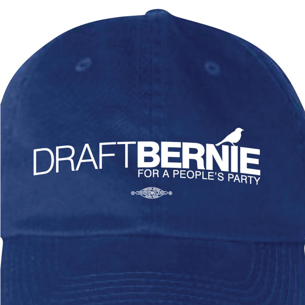 Draft Bernie Official Logo (Royal Blue Cap)