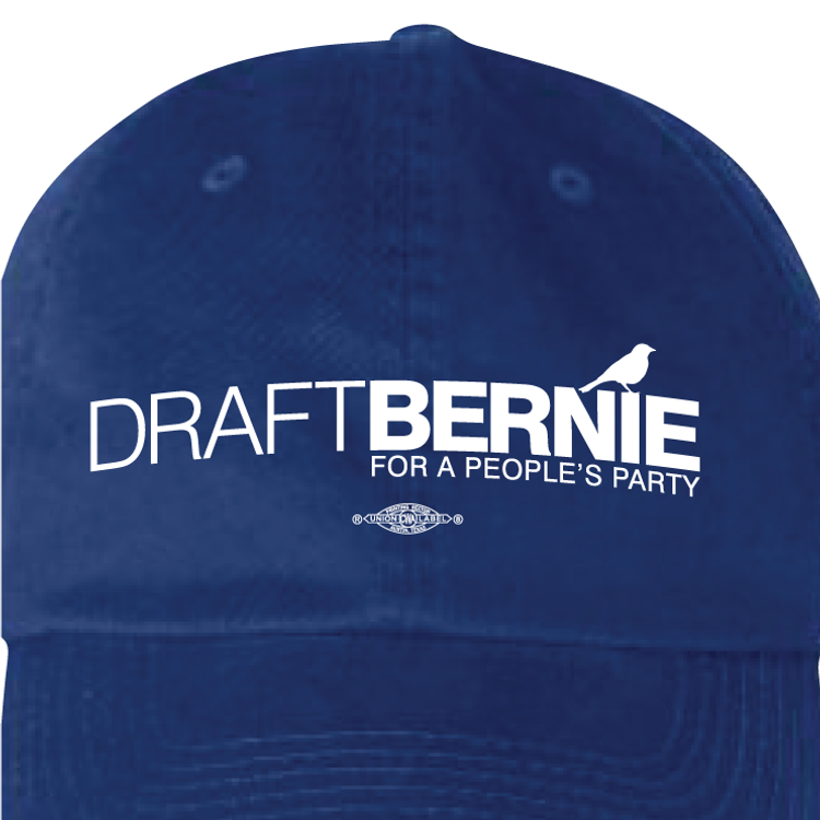 Draft Bernie Official Logo (Royal Blue Cap)