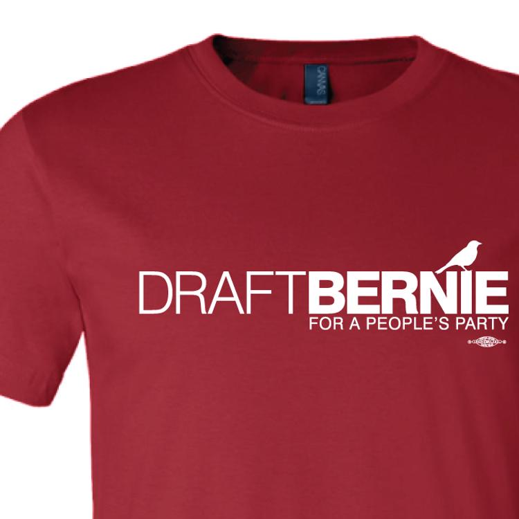 Draft Bernie Official Logo (Cardinal Tee)