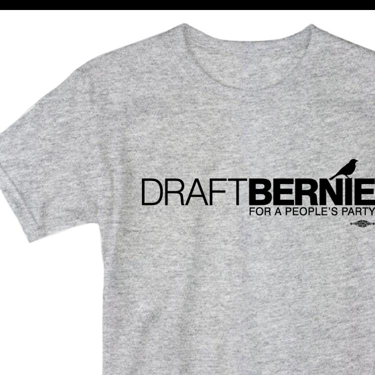 Draft Bernie Official Logo (Youth Size Dark Ash)