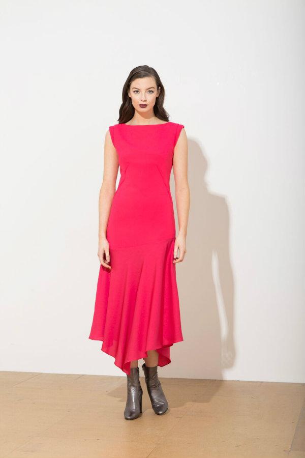 Caroline Kilkenny Jo Dress Pink