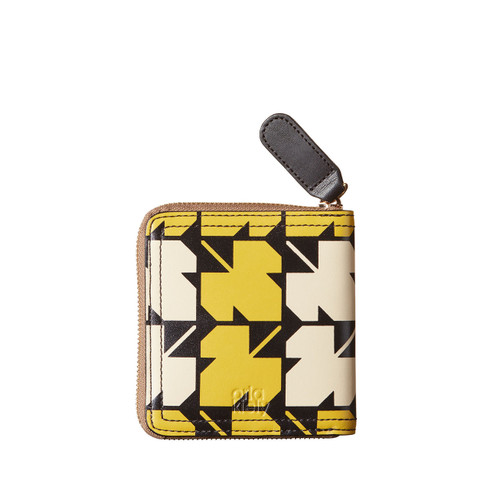Orla Kiely Sycamore square print wallet