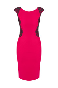 Dress by Aideen Bodkin Snow Dress Fuschia