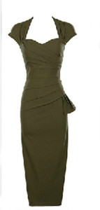 Stop Staring ARMGR Dress Khaki