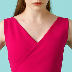 Chiara Boni La Petite Robe Ivanka Dress - Neckline