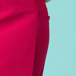 Chiara Boni La Petite Robe Ivanka Dress - skirt detail