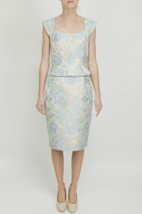Aideen Bodkin Boldo Jaquard Dress - Front