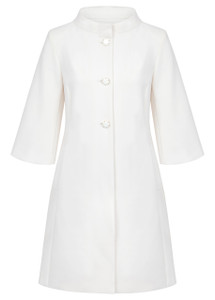 Fee G Cream Coat