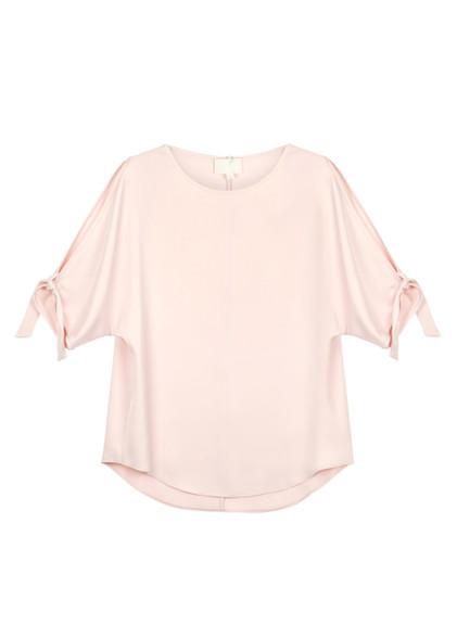 Fee G Blush Silk Top
