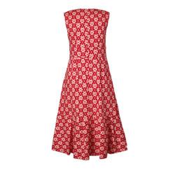 Orla Kiely V Neck Fuschia Dress