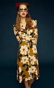 Orla Kiely Berinthia Tea Dress