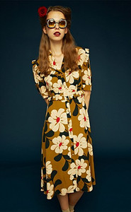 Orla Kiely Berinthia Tea Dress