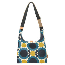 Orla Kiely Midi Sling Bag Denim