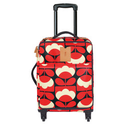 Orla  Kiely Travel Cabin Case Red