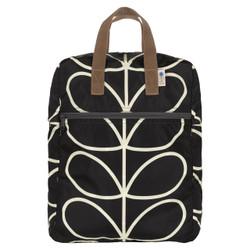 Orla Kiely Packaway Backpack Black
