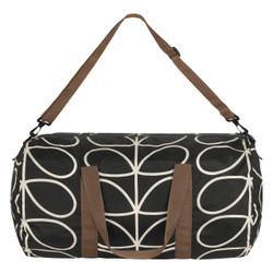 Orla Kiely Packaway Kit bag Balck