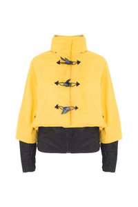 Georgia In Dublin Bronte  Rainwear Jacket Yellow