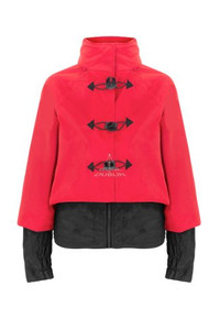 Georgia in Dublin Bronte Jacket Red