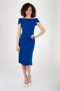 Caroline Kilkenny Harper Dress Blue