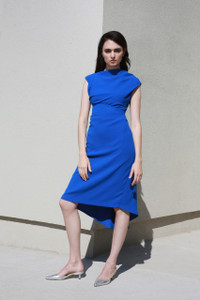 Caroline Kilkenny Joey Dress Blue