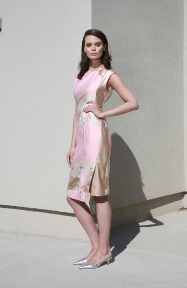 Caroline Kilkenny Sarah Dress Pink