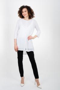 Transit Long Shirt White