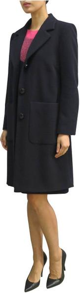Fee G Navy Coat