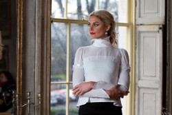 Georgia in Dublin Iris Blouse