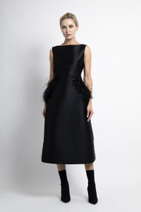 Caroline Kilkenny Black Dee Dress