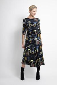 Caroline Kilkenny Sea Printed Jane Dress