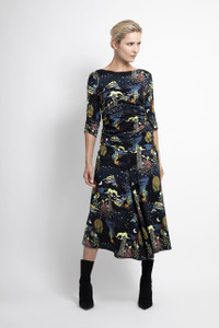 Caroline Kilkenny Sea Printed Jane Dress