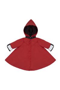Georgia in Dublin Eppie Red Rain Coat Age 5 - 8