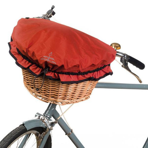 Georgia in Dublin Dorothy Basket Cover Red