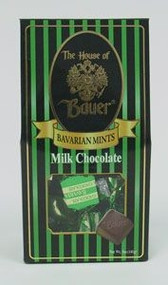 Milk Choc. Wrapped Bavarian Mints - 5 oz. Box