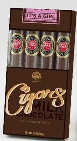 It's a Girl Cigar Box - 4 pc. gift box