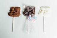 Baby Booties - Chocolate Pops Dozen