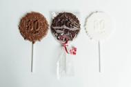 90th Birthday - Chocolate Pops Dozen