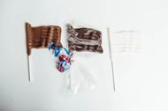 American Flag - Chocolate Pops Dozen