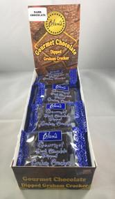 Blum's Gourmet Dark Chocolate Graham Cracker