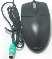 A4tech OP-620 800DPI PS2 Optical Wheel Mouse (Black)