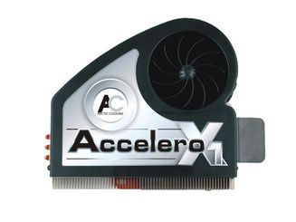 ARCTIC COOLING Accelero X1 Fluid Dynamic Bearing VGA Cooling Fan with Heatsink ACCELX1